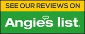 Check us out on Angie's List! Tap/Click the Angie's List icon!