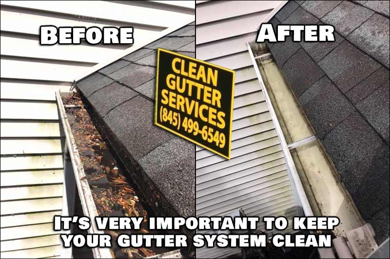 You have to allow the water to effectively move off of your roof, with as little restrictions as possible. Thus the need for a proper gutter system, and a clean gutter system.