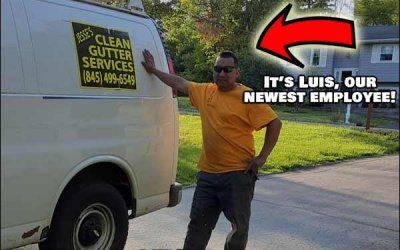 Jesse's Clean Gutter Service – New Hire and New Service!